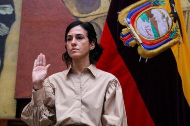 María Alejandra Muñoz se convierte en la cuarta vicepresidenta de Ecuador en tres años