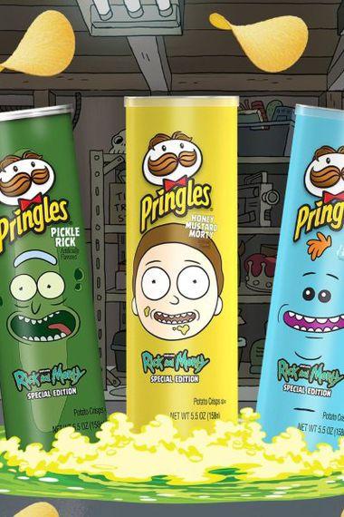 Pringles Lanzará Nuevos Sabores Inspirados En Rick And Morty La Tercera