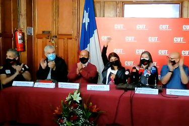 Organizaciones del mundo sindical cuestionan declaración de la CUT que niega denuncia de acoso sexual