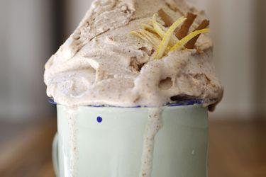 Cómo hacer helado de canela y limón