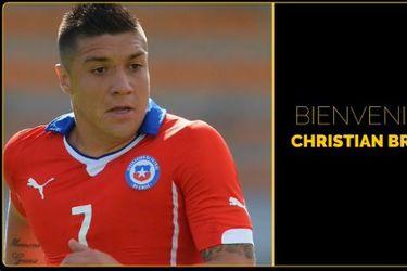 Peñarol anuncia a Christian Bravo como refuerzo