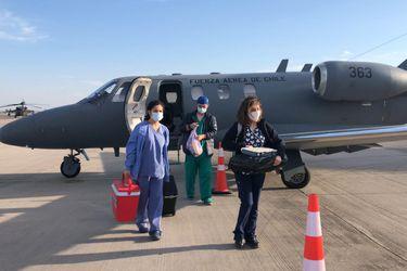 Fach realizó traslado de órganos desde Temuco a Santiago