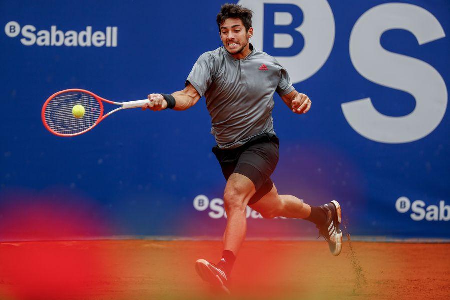 Christian Garin quedó eliminado del ATP de Barcelona tras caer contra Kei Nishikori.