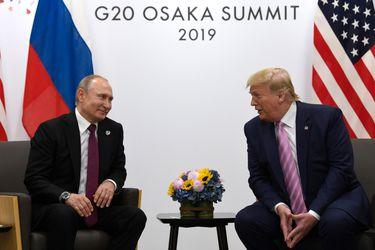 """Trump bromea con Putin sobre la presunta """"injerencia rusa"""" en la política de EE.UU.: """"¡No interfieras en la elección!"""""""