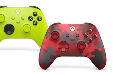 Electric Volt y Daystrike Camo: Xbox presenta nuevo diseño para los controles de Xbox Series X|S