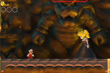 Recrean a Bowsette como un jefe de New Super Mario Bros Wii