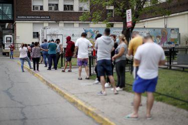 Argentina: 1 millón de casos y récord de muertes