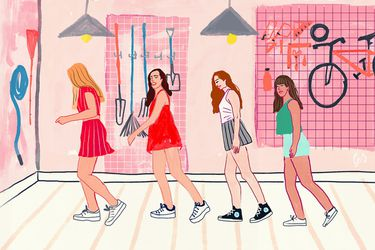 Nostalgia de inventar coreografías con las amigas