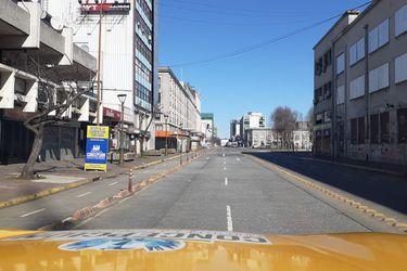 Concepción, Talcahuano, Hualpén, Chiguayante y Linares: primera jornada de cuarentena total en cuatro comunas del Biobío y una del Maule