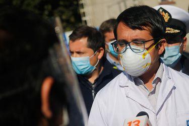 Condición de seremi de Salud de Valparaíso se complica: debió ser conectado a un ventilador mecánico