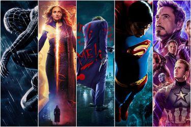 Esta es la oferta de películas de superhéroes en los streamings para tu cuarentena