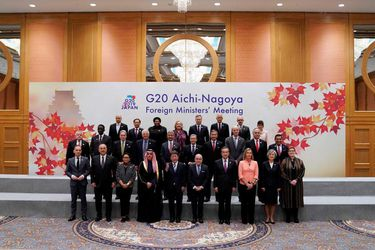 G20 Aichi-Nagoya Foreign Ministers' Meeting