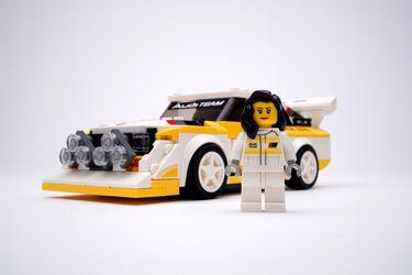 Audi y Lego se unen para celebrar a Michèle Mouton, la primera y única en ganar una carrera del WRC