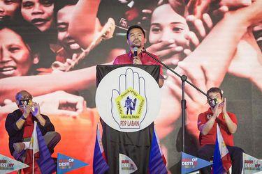 Manny Pacquiao desafía a Duterte y se declara candidato a la Presidencia de Filipinas en 2022
