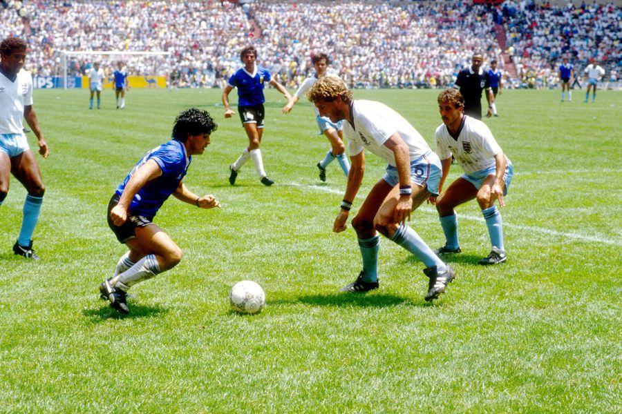 Soccer - World Cup Mexico 86 - Quarter Final - England v Argentina