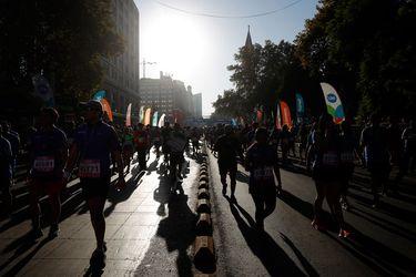 El Maratón de Santiago se va de la Plaza Italia