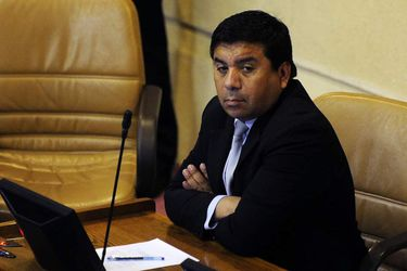 El diputado Pedro Velásquez.  Foto: Pablo Ovalle AGENCIAUNO.