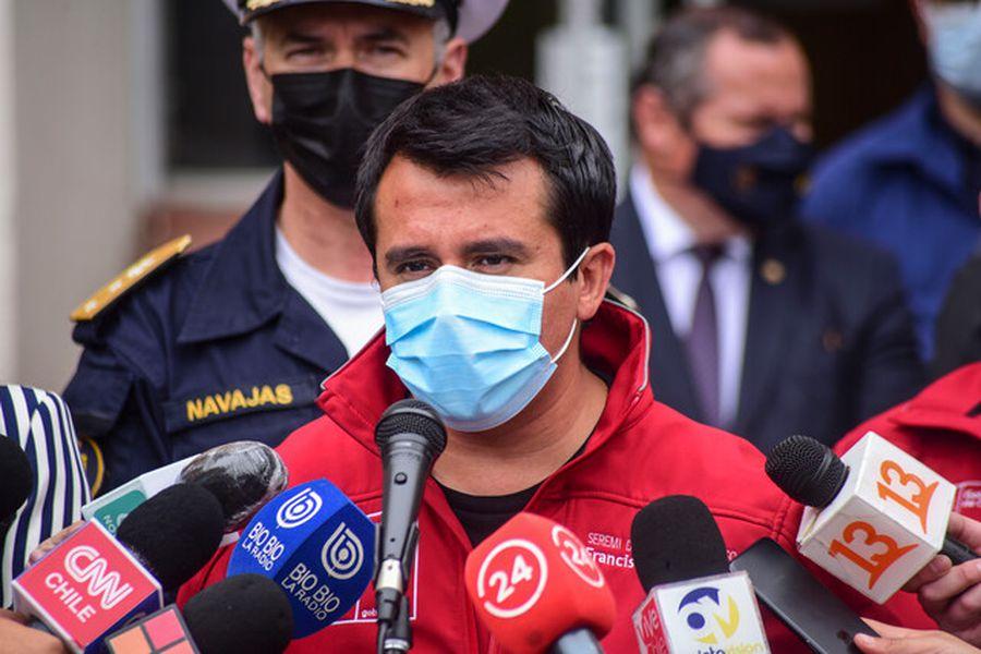 Francisco Álvarez, seremi de Salud de Valparaíso.