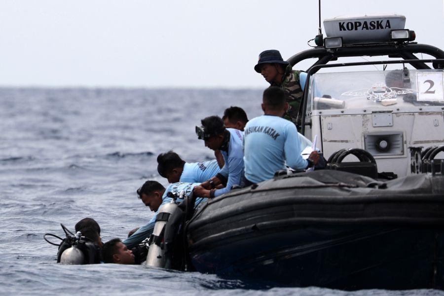 Rescate en Indonesia
