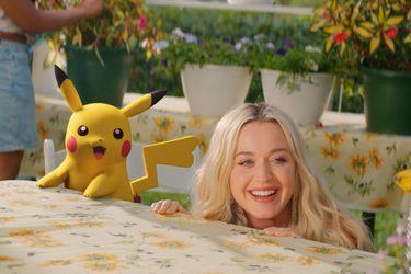 Katy Perry presenta Electric su canción por el 25° aniversario de Pokémon