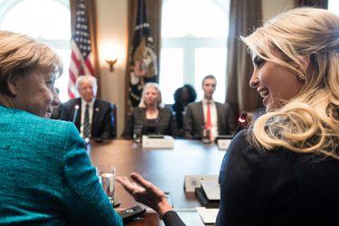 Angela Merkel e Ivanka Trump