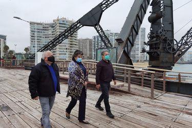 Viña del Mar: alcaldesa Reginatto reabre el Muelle Vergara y otros paseos públicos