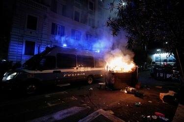Nuevas protestas en Europa contra restricciones por pandemia
