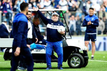 Los hitos del fugaz paso de Maradona por Gimnasia y Esgrima