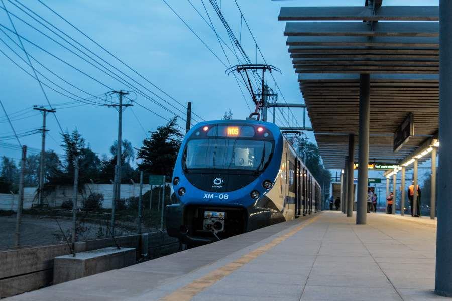 Imagen Tren Central Nos-Alameda Hora Punta-8