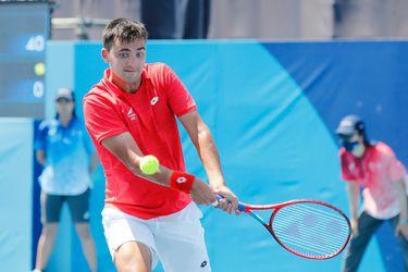 Tomás Barrios cae en primera ronda y el tenis chileno se despide de Tokio