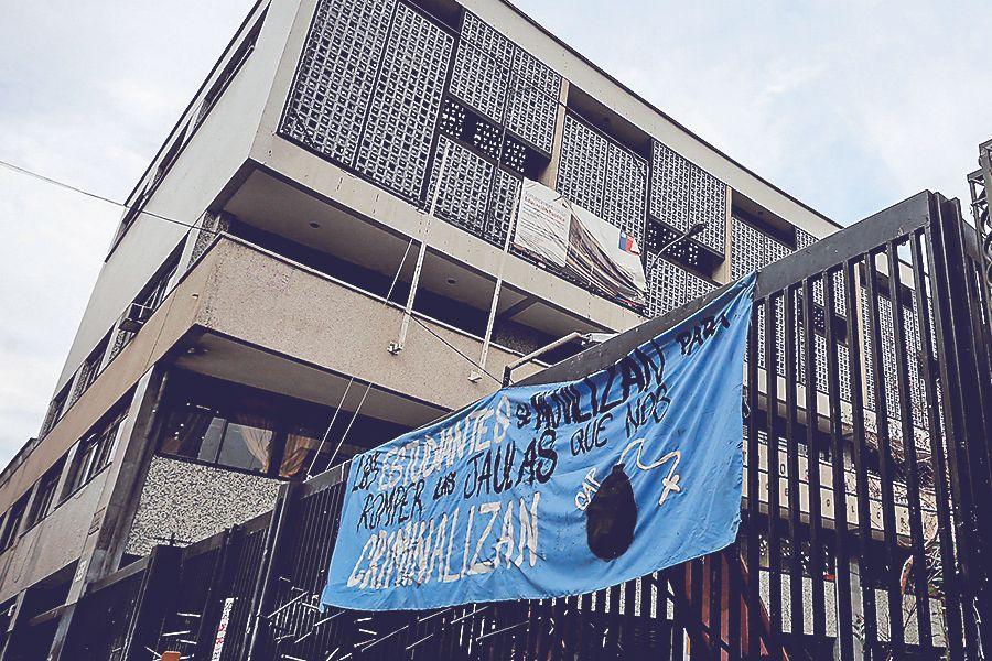 10/06/2019TOMA INSTITUTO NACIONALMario Tellez/La Tercera