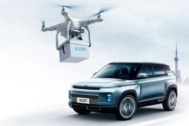 Efecto coronavirus: Ahora Geely entrega llaves del auto con un dron