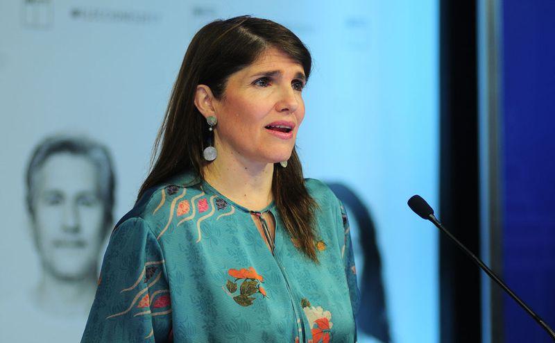 Voceria de la ministra Paula Narvaez