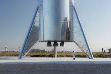 Elon Musk presentó el prototipo de Starship, el nuevo cohete de SpaceX