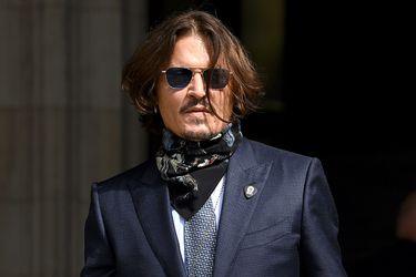 Johnny Depp en caída libre