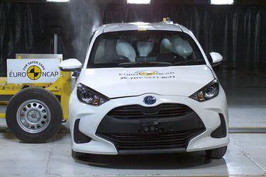Euro NCAP inaugura el nuevo estándar de testeos y el Toyota Yaris certifica cinco estrellas en seguridad