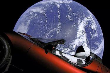 El Tesla de Elon Musk seguirá vagando en el espacio por millones de años