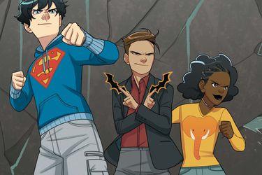 Un tráiler presenta Super Sons: The Polarshield Project, lo nuevo de DC Zoom