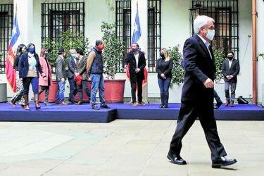 """Piñera respalda labor del comité político: """"Está cumpliendo bien sus funciones"""""""