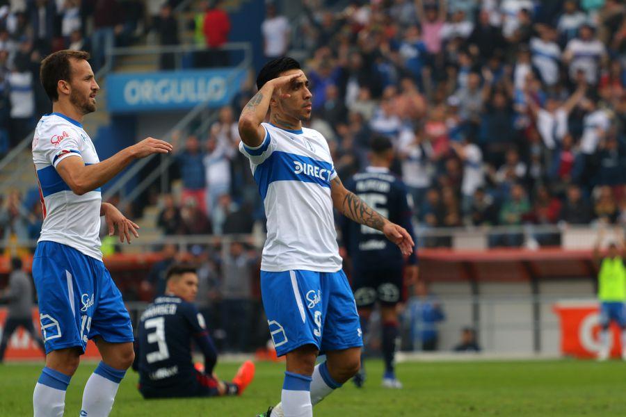 Edson Puch quedó descartado para la revancha ante Palmeiras, por los octavos de final de la Copa Libertadores.