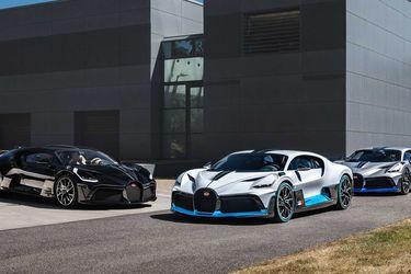 Una horneada como pocas: las 40 unidades del Bugatti Divo salen de Molsheim
