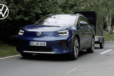 El Volkswagen ID.4 -hermano del Skoda Enyaq- ya se muestra sin tapujos antes de la presentación oficial
