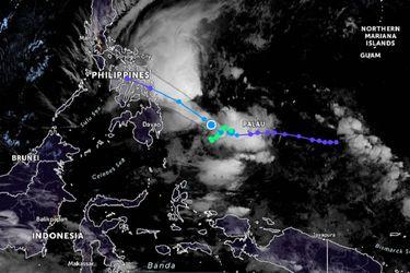 Filipinas evacúa a miles de habitantes del sur del país ante la llegada del ciclón tropical 'Dujuan'