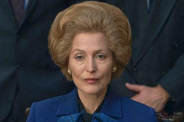 """Gillian Anderson en la piel de Thatcher: """"Ella venera a la reina siempre y cuando no se entrometa en sus asuntos"""""""