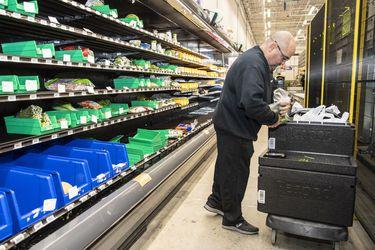 Los supermercados en línea están obteniendo una vista previa de su futuro