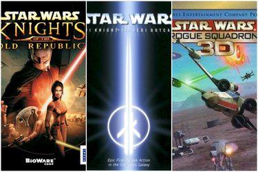 Cinco juegos de Star Wars que debes jugar