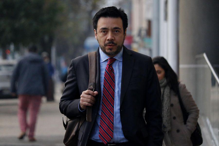 El suspendido fiscal Emiliano Arias.