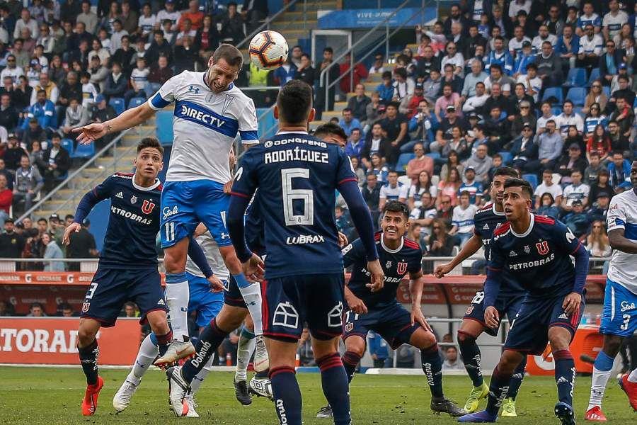 Universidad Católica vs Universidad de Chile, campeonato 2019
