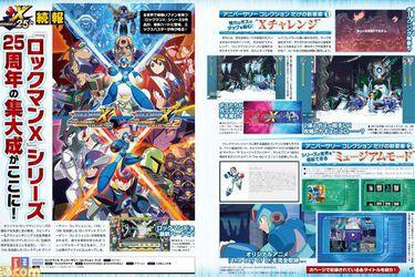 Anuncian Rockman X Anniversary Collection 1+2 en Japón