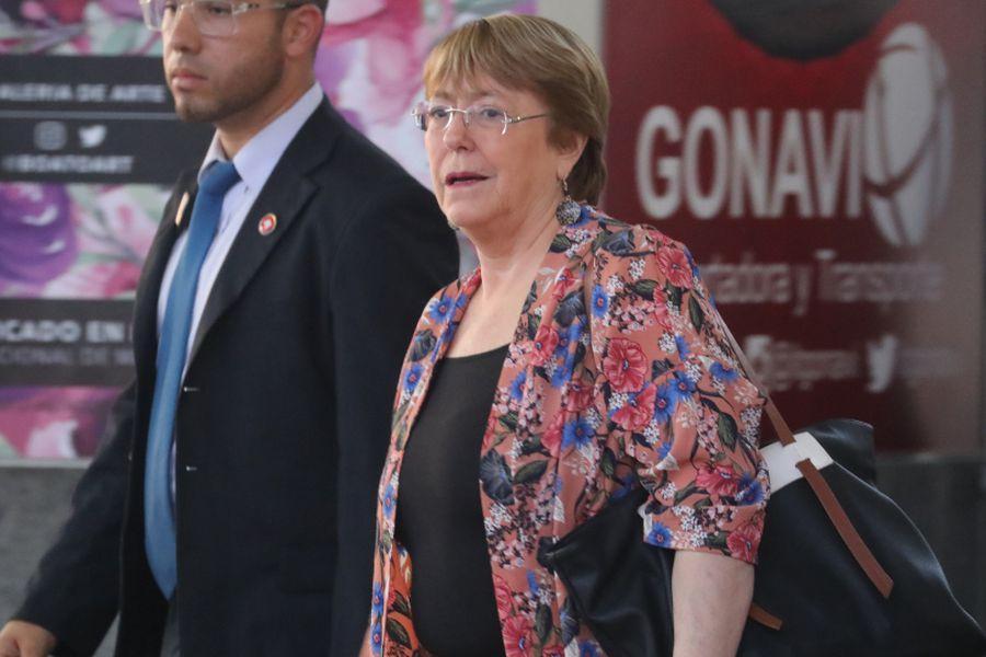 Bachelet en Venezuela (4)